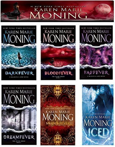 A Complete 6-book Karen Marie Moning Fever Series Collection [Darkfever, Bloodfever, Faefever, Dreamfever, Shadowfever, and Iced] (Karen Marie Moning Iced compare prices)