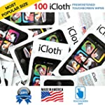 iCloth touchscreen cleaning wipes - 1...