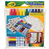 Crayola Window Marker/Stencil Art Set