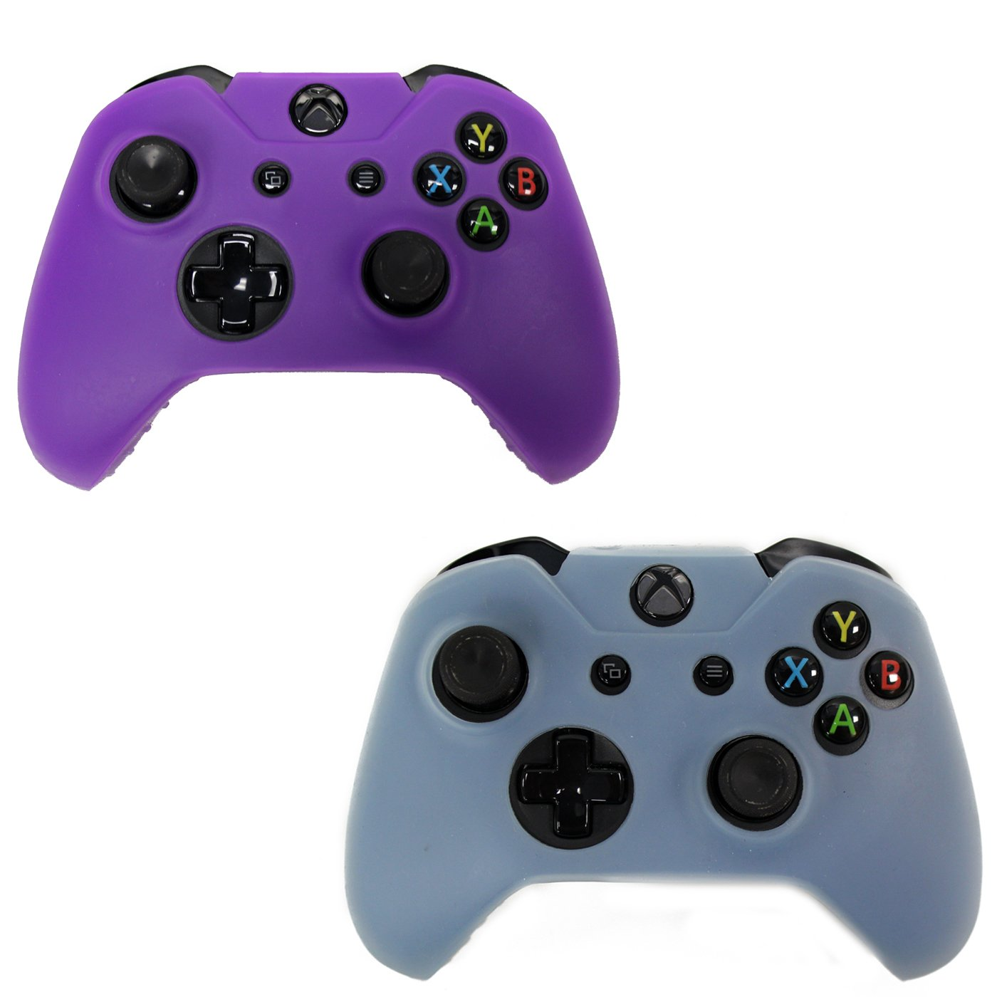 HDE 2 Pack Protective Silicone Skins for Xbox One Controller protective silicone case for xbox one controller blue