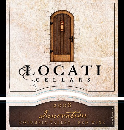 "2008 Locati Cellars Innovation ""Super Tuscan"" Blend 750 Ml"