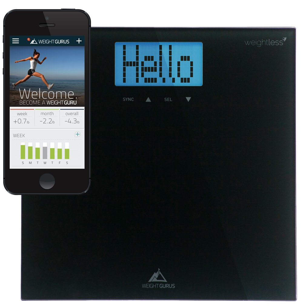 Mygreatfinds Weight Gurus Smartphone Connected Digital
