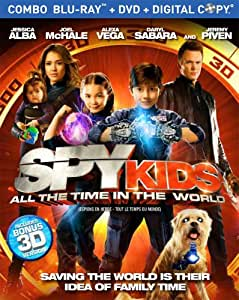 Spy Kids: All the Time in the World [Blu-ray + DVD + Digital Copy]