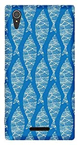 WOW Printed Designer Mobile Case Back Cover For Sony Xperia T3