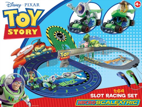 Micro Scalextric G1063 Disney Toy Story 1:64 Scale Race Set