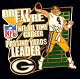 "Brett Favre ""All Time Passing Yards Leader"" Pin at Amazon.com"