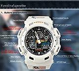 Epozz Clock Swimming Men Sport Digital LED Display Luminous Military Wrist Watch Waterproof 100m