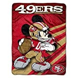 SAN FRANCISCO 49ERS NFL MICKEY MICRO RASCHEL (46IN X 60IN)