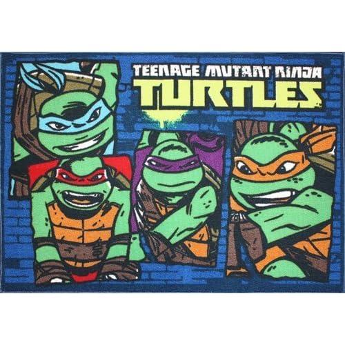 Teenage Mutant Ninja Turtle Rug