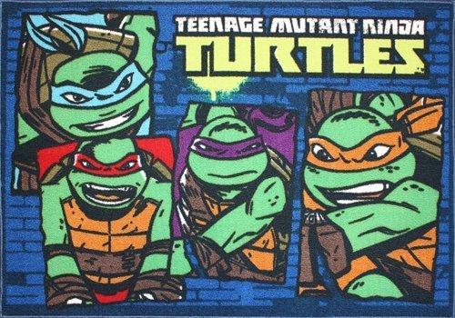 Teenage Mutant Ninja Turtles Area Rug front-70158