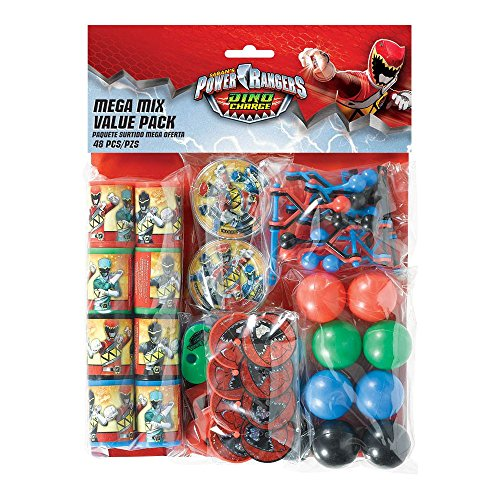 Power Rangers Dino Charge Mega Favor Pack (For 8 Guests)