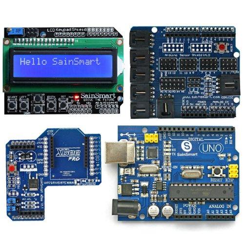 SainSmart Arduino UNO, ATmega328p + SainSmart LCD Keypad