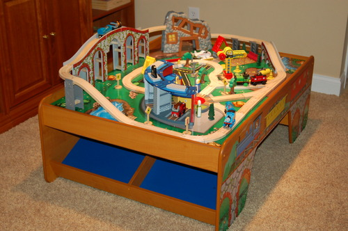 Thomas train table review outdoor