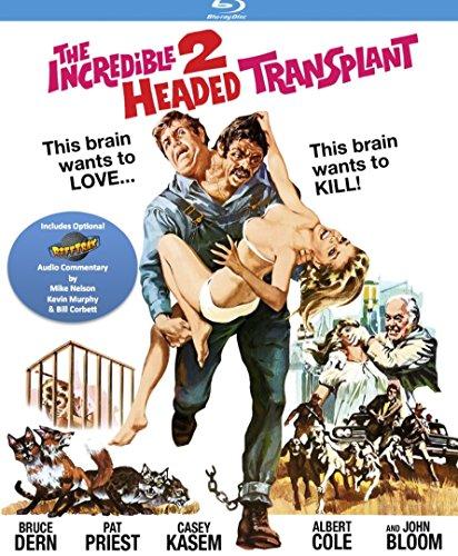 Incredible Two-Headed Transplant (with optional RiffTrax) [Blu-ray]