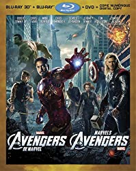 Marvel's The Avengers 3D (4-Disc Bilingue Combo Pack) [3D Blu-ray + Blu-ray + DVD + Digital Copy]