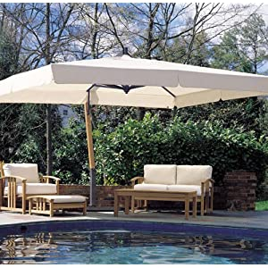 aluminum cantilever umbrella rainwear