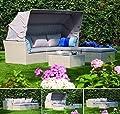 Siena Garden 254927 Marino Lounge Set, 6-teilig, Kissen hellgrau, polar alu von Siena Garden auf Gartenmöbel von Du und Dein Garten