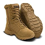 Smith & Wesson Footwear Men's Breach 2.0 Tactical Size Zip Boots, Coyote, 10.5 (Color: Coyote, Tamaño: 10.5 M US)
