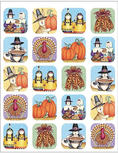 Teacher Created Resources DM We Are Thankful Stickers (4766)