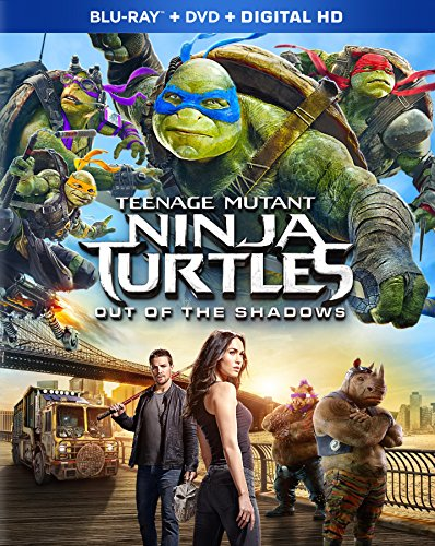 Teenage Mutant Ninja Turtles: Out Of The Shadows [Blu-ray] (Ninja Turtle Movie 2014 compare prices)