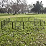16 Panel Heavy Duty Cage Pet Dog Cat Barrier Fence Exercise Metal Playpen...