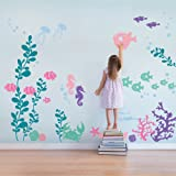 Under the Sea Wall Decals - scheme B - by Simple Shapes (Color: Scheme B)