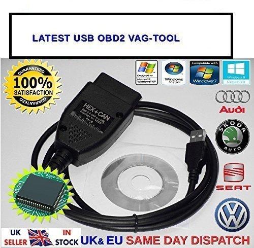 Cheap Price VCDS VAGCOM VAG COM 12 12 3a HEX + CAN Diagnostic Cable