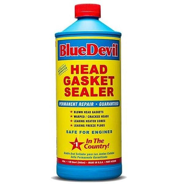 Blue Devil (38386-6PK) Head Gasket Sealer - 32 Ounce, (Pack of 6) (Tamaño: 32 Quart, (Pack of 6))