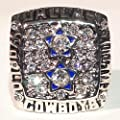 Dallas Cowboys 1977 Super Bowl Ring - Roger Staubach Replica - Great Dallas Cowboys Memorabilia - Wear or Display - Men/Women/Unisex Size 9 - Shipped from USA
