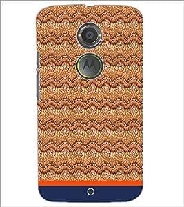 PrintDhaba Pattern D-1748 Back Case Cover for MOTOROLA MOTO X2 (Multi-Coloured)