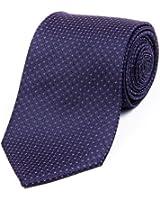 DonDon Designer Krawatte 8 cm - von Hand gefertigt - verschiedenfarbig