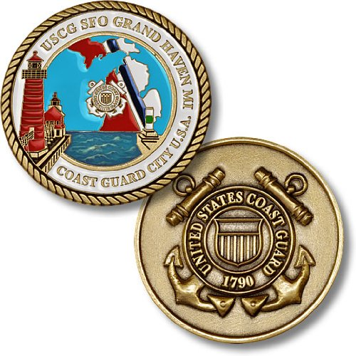 USCG Sector Field Office Grand Haven, Michigan Challenge Coin