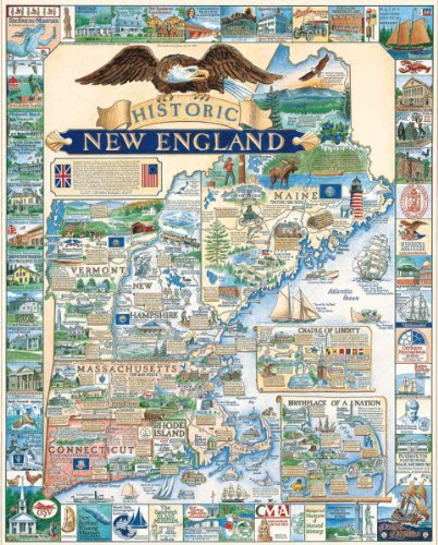 Cheap Fun White Mountain Puzzles Historic New England (B000BXHQ0I)