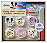 Melissa & Doug Mickey Mouse Clubhouse Wooden Slice & Bake Cookie Set Toy