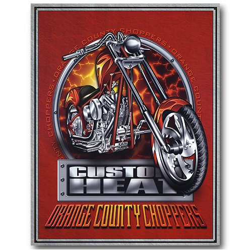 Nostalgic Orange County Choppers Tin Sign