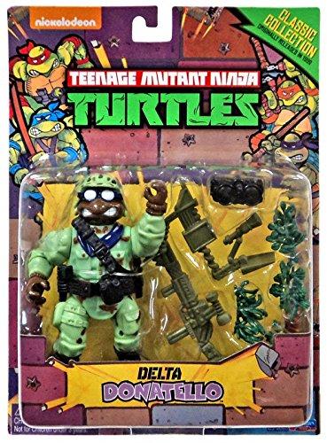 Teenage Mutant Ninja Turtles, Classic Collection, Delta Donatello Action Figure, 4 Inches (Ninja Turtles Action Figures 1988 compare prices)