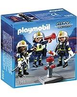 Playmobil - A1501450 - Jeu De Construction - Unité De Pompiers