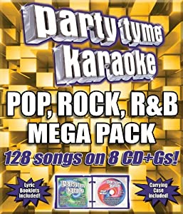 Party Tyme Karaoke: Pop Rock R&B Mega Pack