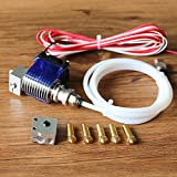 Zamtac Long-Distance 3D Printer V6 J-Head Hotend with 3010 Fan for 1.75/3.0mm Bowden Extrude 0.4 Nozzle + Volcano kit Hot Sale - (Size: 3.0MM) (Tamaño: 3.0MM)