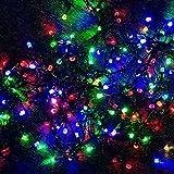 Amazon.co.jpGOODGOODS LED イルミネーション 屋外 クリスマスライト クリスマスツリー 飾り LED電飾 多彩カラー 100球 10m 防雨防水 LD-K7