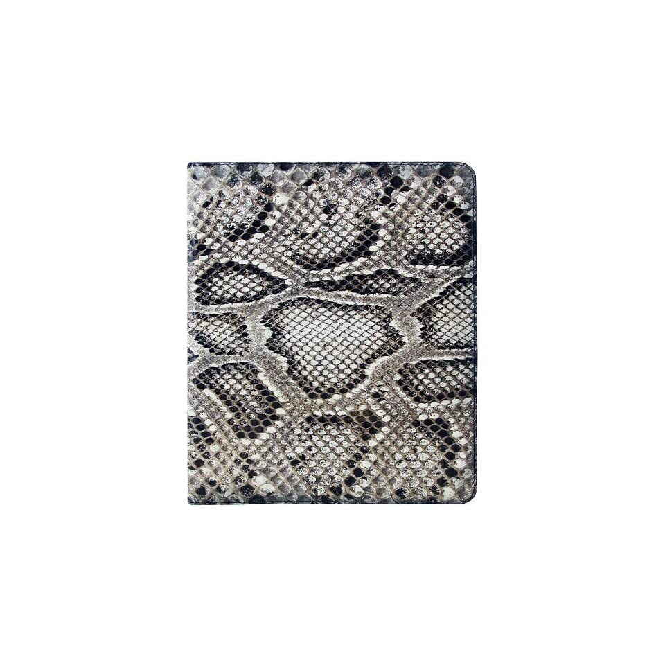 100% Genuine Python Snake Leather iPad 2 Folding Case   Natural