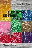 img - for Elementos de teoria politica / Elements of Political Theory (Alianza Ensayo) (Spanish Edition) book / textbook / text book