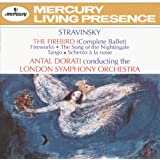 Stravinsky: The Firebird; Fireworks; The Song of the Nightingale; Tango; Scherzo à la russe