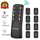 Key Finder Locator,Item Tracker Wireless RF Item Locator with Letters,Key Tracker with 85DB Loud Beeping Sound and 115 Feet Remote Control,8 Receivers,Anti-Lost Tags and Keychains (Color: 8 receivers with letter)