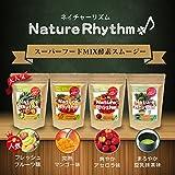 Nature Rhythm スーパーフードMIX酵素スムージー グリーンスムージー ダイエット (フレッシュフルーツ味, 200g)