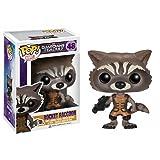 Funko Pop Marvel Guardians of The Galaxy - Rocket Raccoon Vinyl Bobble Head Figure (Color: Multi-colored, Tamaño: Onesize)