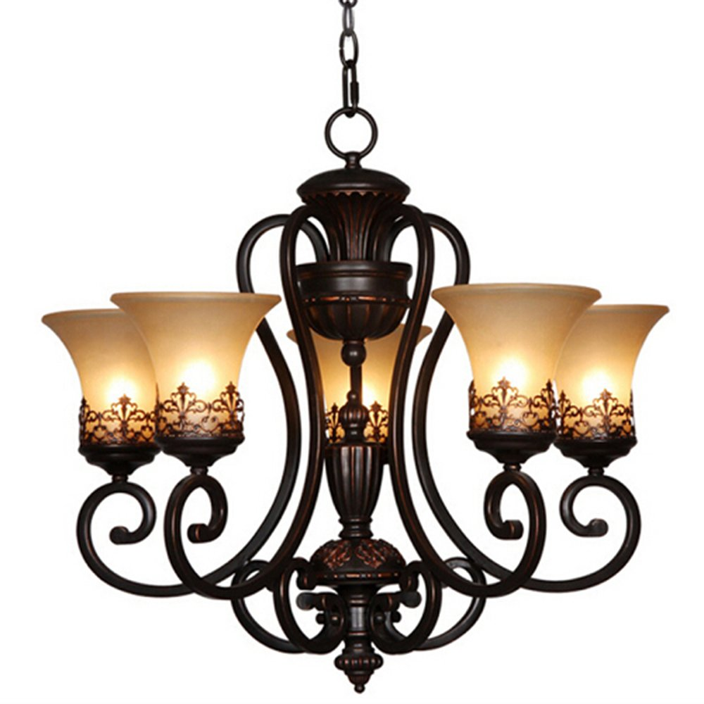 LightInTheBox Island Country Vintage Style Chandeliers Flush Mount Painting Lighting Fixture Lamp 0