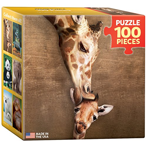 EuroGraphics Giraffe Mini Puzzle (100-Piece)