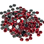 Pack of 1000 x Red Crystal Flat Back...