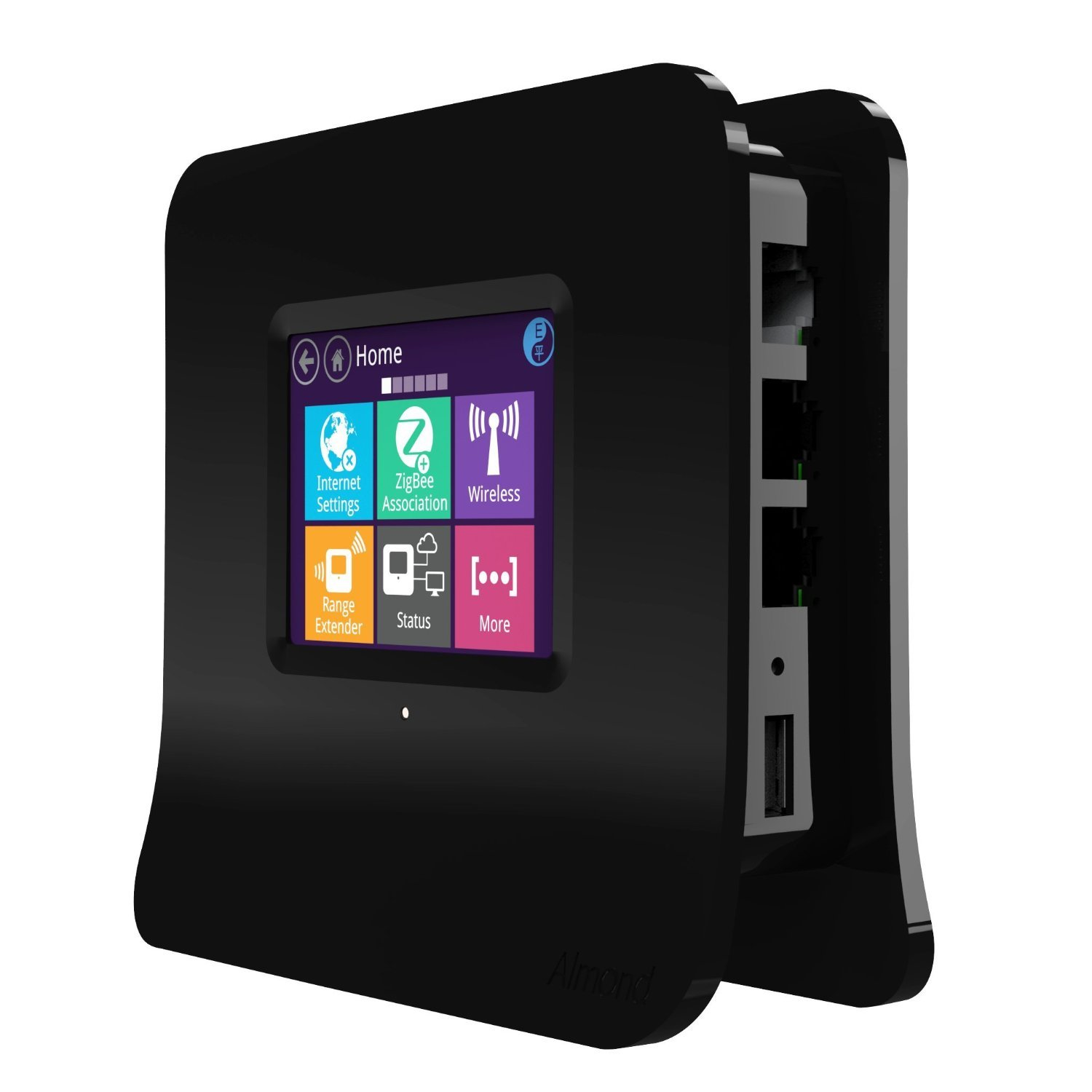 Securifi Almond 2015 - (3 Minute Setup) Long Range Touchscreen Wireless Router / Range Extender + Home Automation Hub